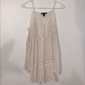 Forever 21 sheer beach dress